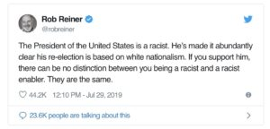 Rob Reiner's Hypocrisy Goes to 11