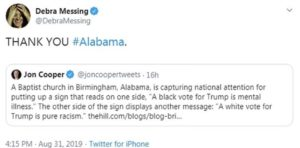 Messing's Mess: Disturbing Tweet Accuses Black Conservatives of Mental Illness