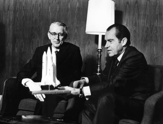 How Richard Nixon Changed NASA