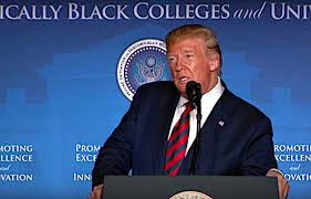 President Donald J. Trump addressed the White House Initiative on Historically Black Colleges