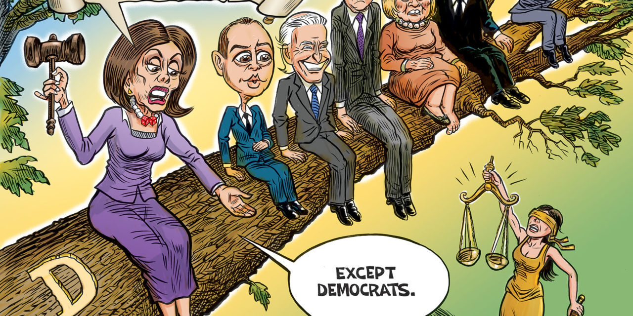 No One Above The Law Except Dems
