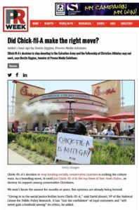 Chick-fil-A Boss has Egg on His Face