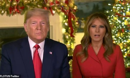 A Christmas Message From President Donald and First Lady Melania Trump