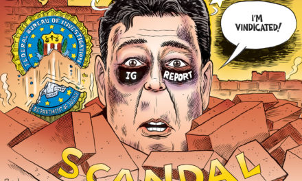 Comey's Black Eye