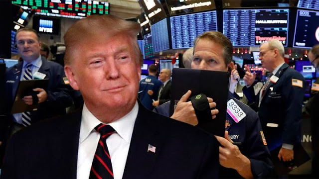 Dow gains 10,000th point since Trump's election