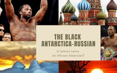 The Black Antarctica-Russian