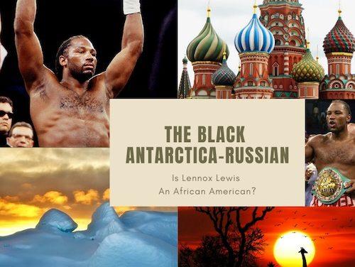 The Black Antarctica-Russian