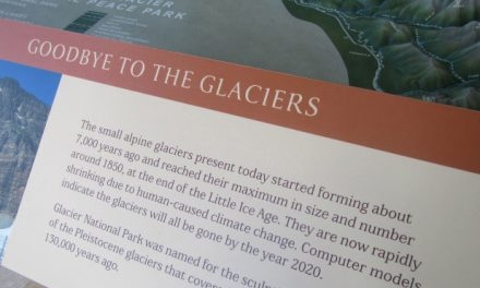 The telling tale of Glacier National Park's 'gone by 2020' signs