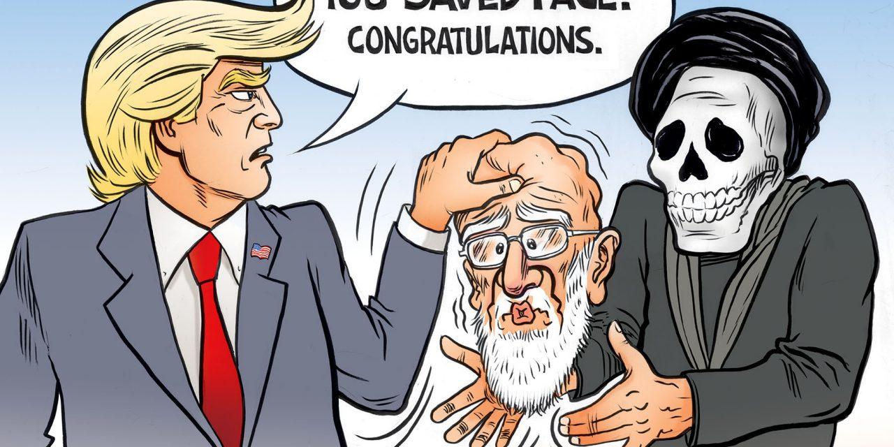 Iran Saves Face