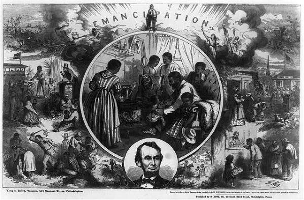 On This Day in US History — Republicans Freed the Slaves