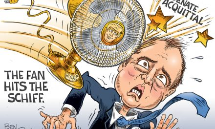 The Fan Hits The Schiff
