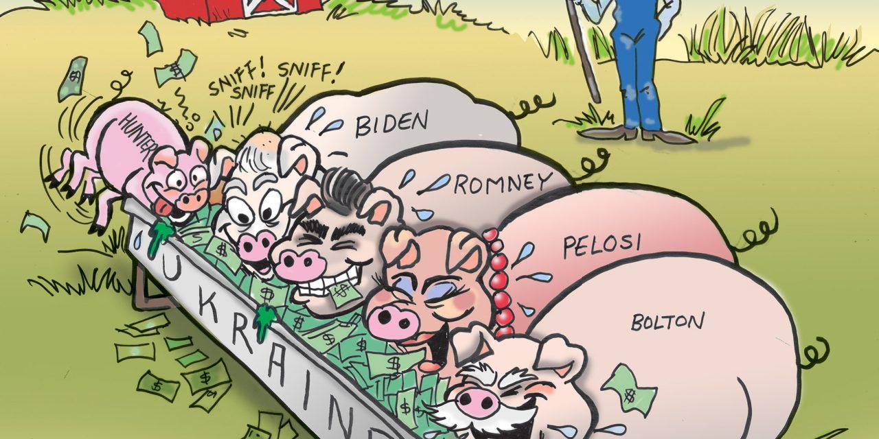 Ukraine Piggies
