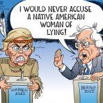 Warren Vs.Bernie
