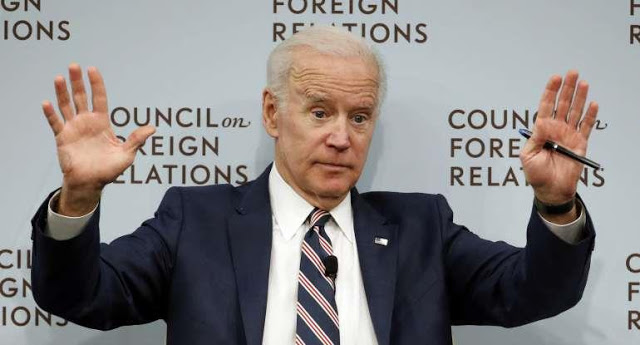 Joe Biden Is a Cry for Help – He's Creepy, Gropey, and Dopey