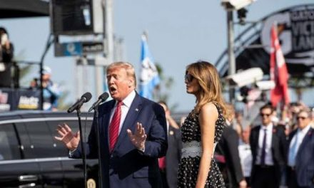 Trump Thrills Daytona 500 Fans and Gives New Meaning to 'Flyover Country'