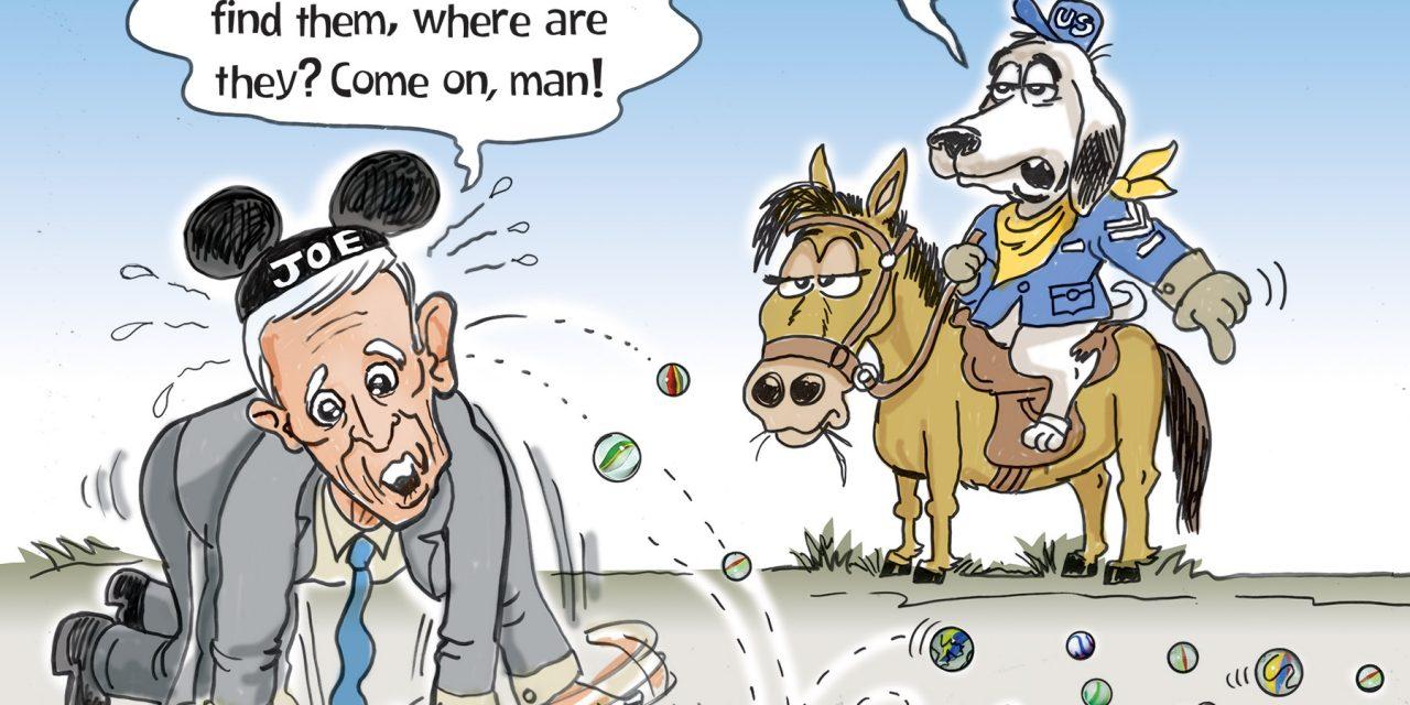 Biden Loses His Marbles