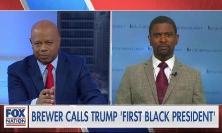 Trump: the First Black President