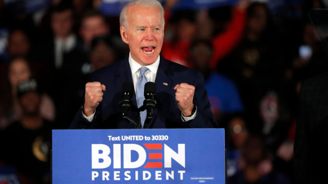 Fox News Voter Analysis: Bern Out? Biden's surge continues.