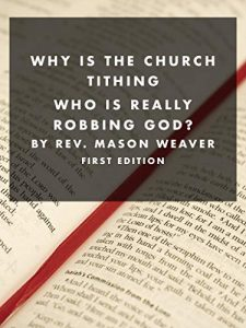 Why is the church tithing? cover