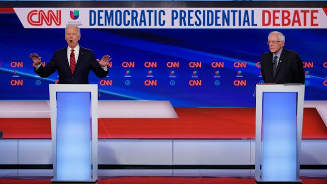 "The Biden-Sanders Debate and the DNC: ""Their islands are sinking"""