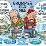 Grumpier Old Men- Biden and Bernie