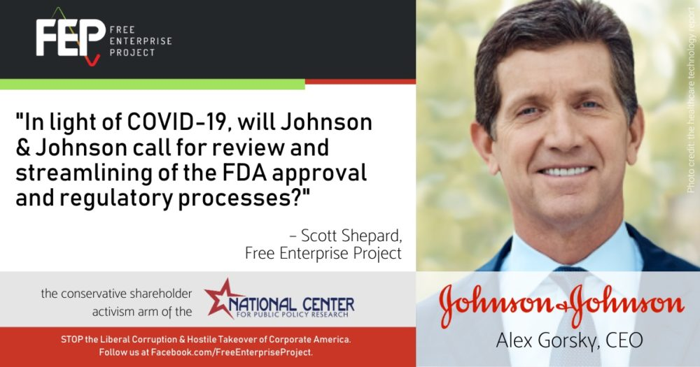 Johnson & Johnson Evasion Highlights Problems with Regulation and Virtual Shareholder Meetings