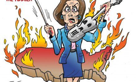 Pelosi the Fiddler