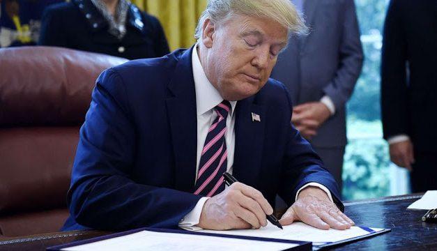 Trump signs $484B small business coronavirus relief bill into law