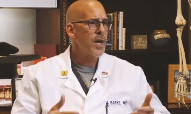 (Must See Video) Dr. Jeff Barke Speaks Out Listen