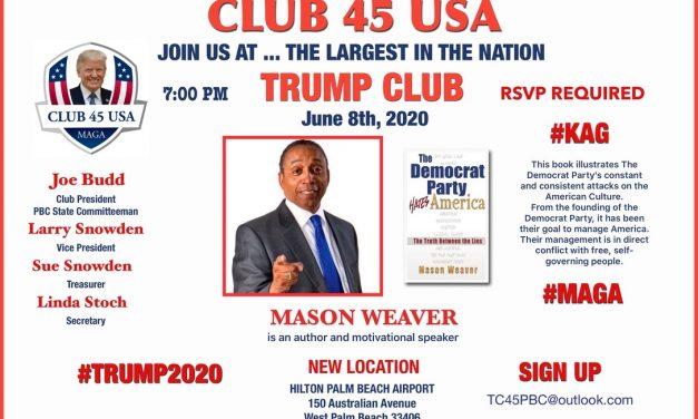 Club 45 USA Palm Beach Event Mason Weaver