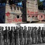 BLM vandalized the 54th Massachusetts Regiment Memorial