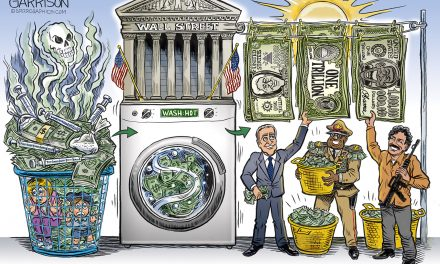 The Wall Street Washing Machine