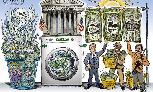 The Wall Street Washing Machine