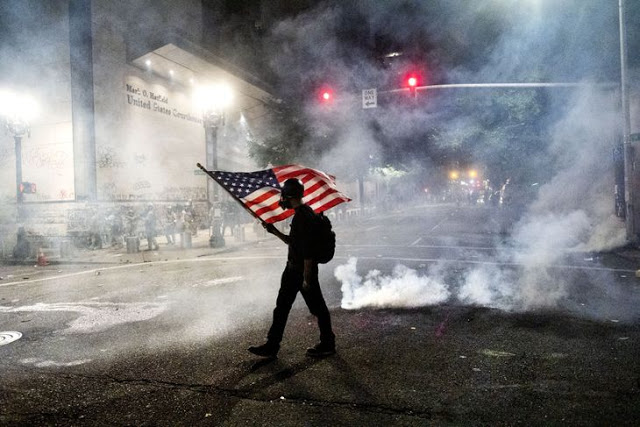 Black Portlander Changes His Mind About the Nightly Protests After He Attends One