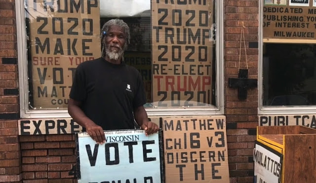 Black Man Known for Standing Outside With 'Vote Trump' Signs Murdered in Broad Daylight
