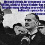 Appeasement Never Works! Part III
