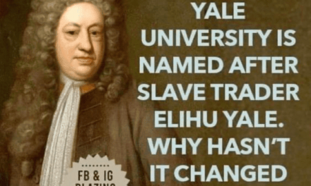 RENAME YALE UNIVERSITY? GOOD IDEA!