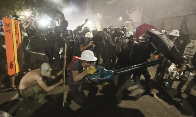 And Just Like That, Joe Biden and the Democrats Stopped Liking Riots