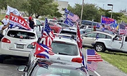 Media Completely Ignored Thousands Of Cubans Rallying For Trump In Florida At Mother Of All Caravans