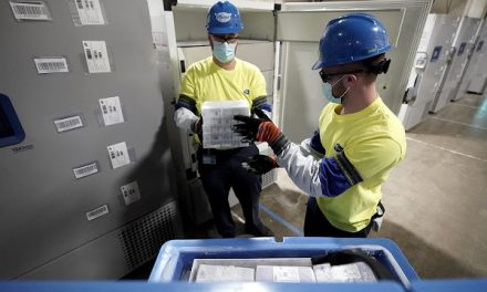 First shipment of Pfizer-BioNTech coronavirus vaccine leaves Michigan facility