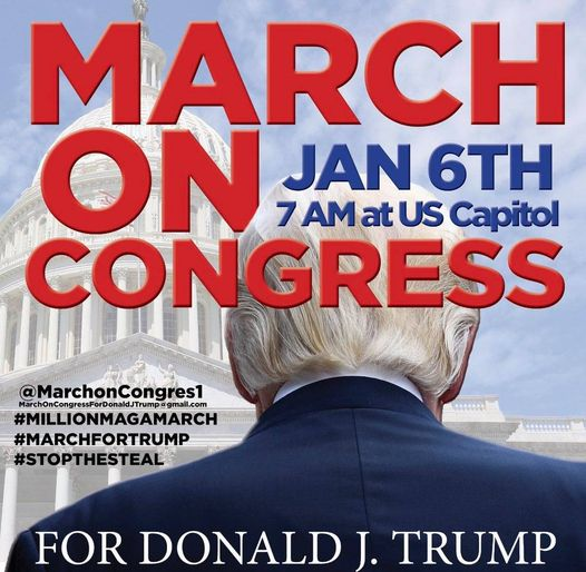 ALERT! THE JANUARY 6TH RALLY IN DC WITH PRESIDENT TRUMP Will BE HISTORIC!