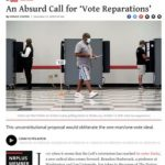 """Vote Reparations: """"Really Insidious"""""""