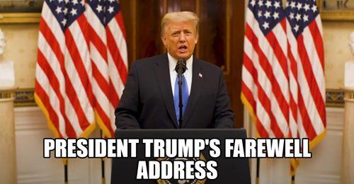 President Donald J. Trump Farewell Address