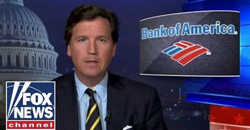 Tucker: Bank of America secretly turned over customer data to FBI