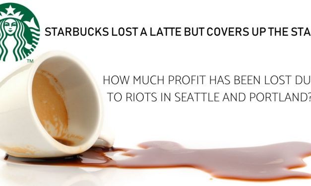 Starbucks Lost a Latte But Covers up the Stain