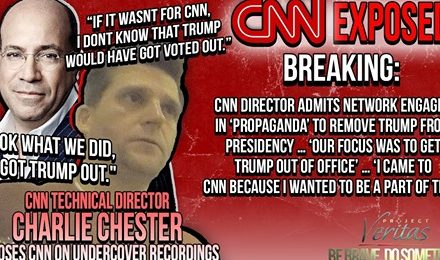 CNN Director ADMITS Network Engaged in 'Propaganda' to Remove Trump from Presidency