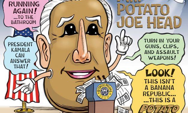 The Potato In Chief Joe Biden