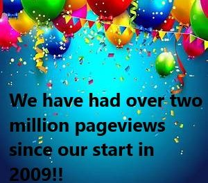 Let's Celebrate: Our Black Republican Blog Goes Over Two Million Pageviews!