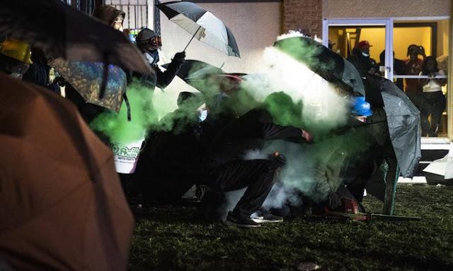 Daunte Wright Warrant; Antifa Joins 3rd Night Of Rioting In Brooklyn Center