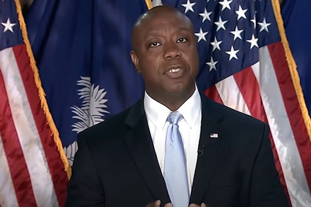 Tim Scott Faces Heinous Racist Attacks for Telling the Truth